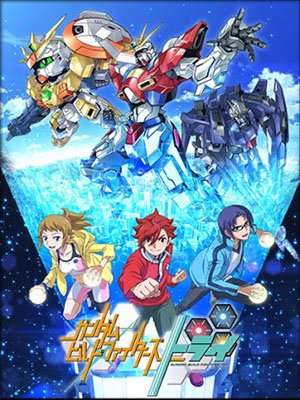 Gundam Build Fighters Try [25/25][720p][100MB][MEGA]